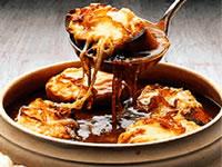 Zuppa di cipolle alla Lucrezio