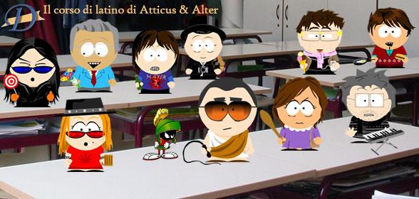 Il Corso di Latino di Atticus e Alter