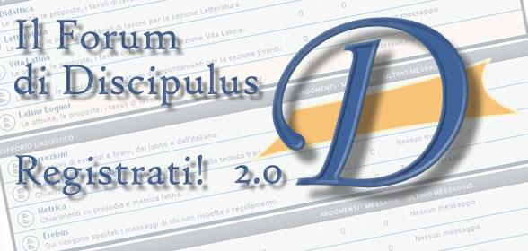 Il Forum di Discipulus