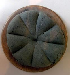 Forma di pane carbonizzata, ritrovata a Pompei